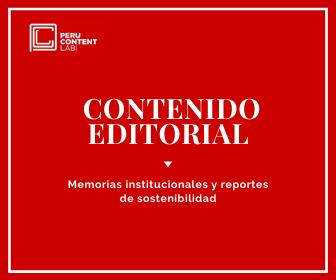 Perú Content Lab - Memorias institucionales